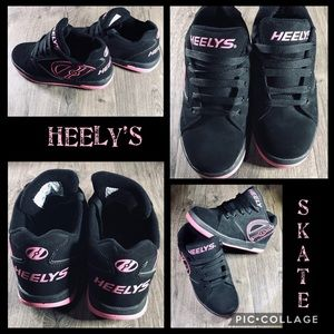 Heely's Skate Shoes 💙 Youth size 5- Woman Size 6
